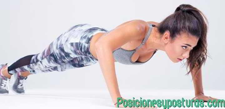Postura de flexiones