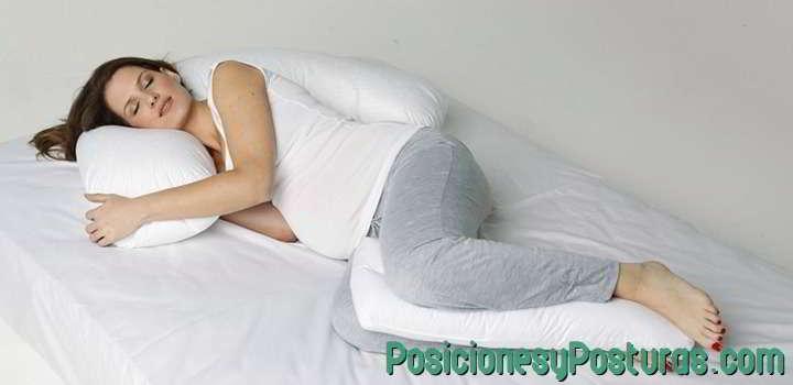 posicion de lado almohada
