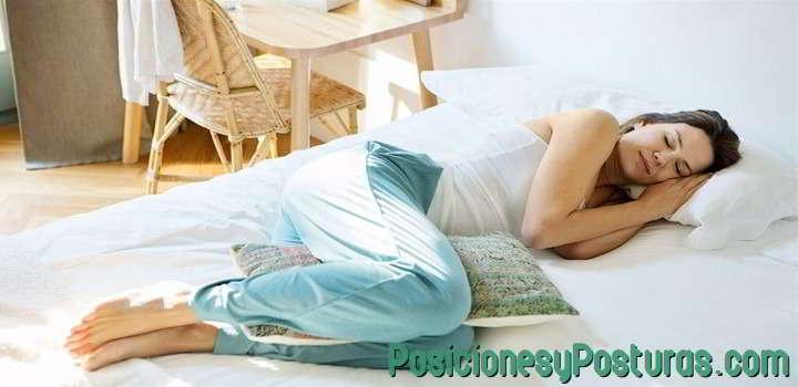 posicion fetal para dormir