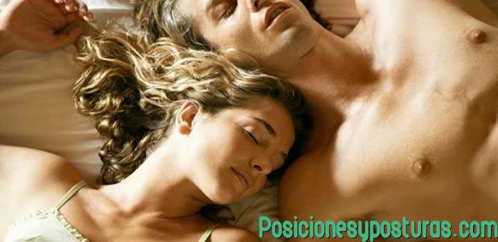 posición para dormir boca arriba